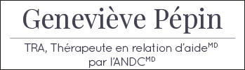 Geneviève Pepin thérapeute | TRA Logo